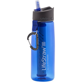 LifeStraw Go 2-Stage Drinking Bottle with Water Filter blue